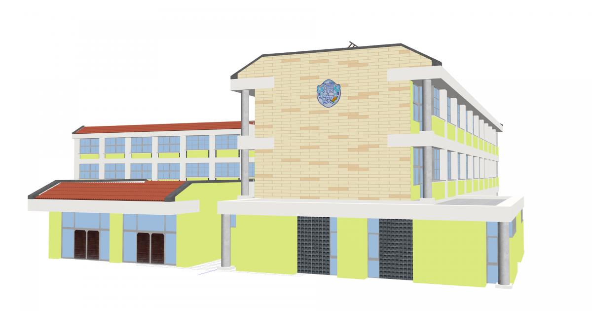 浦の星女学院 3Dモデル Ver.1