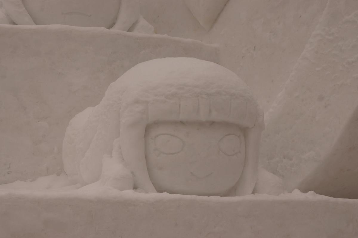 さっぽろ雪まつり 「ラブライブ!サンシャイン!!」雪像
